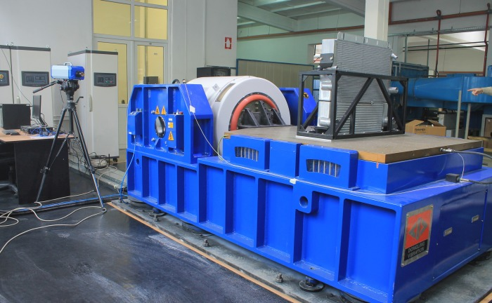 RAAL Testing Center - Electro-dynamic vibration system