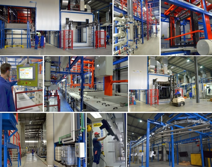 The KTL Plant and The Powder Coating Line