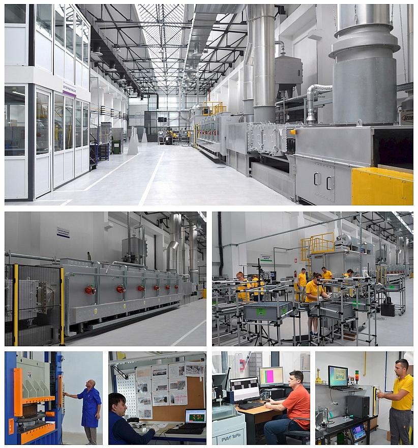 Una nuova sezione di produzione per applicazioni automobilistiche