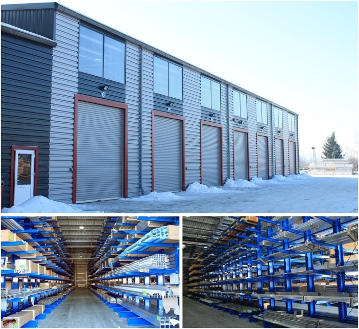 The new materials warehouse from RAAL Prundu Bîrgăului